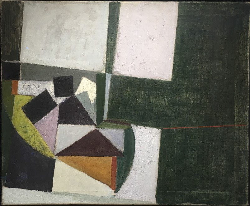 ADRIAN HEATH (1920-1922)  COMPOSITION 1952