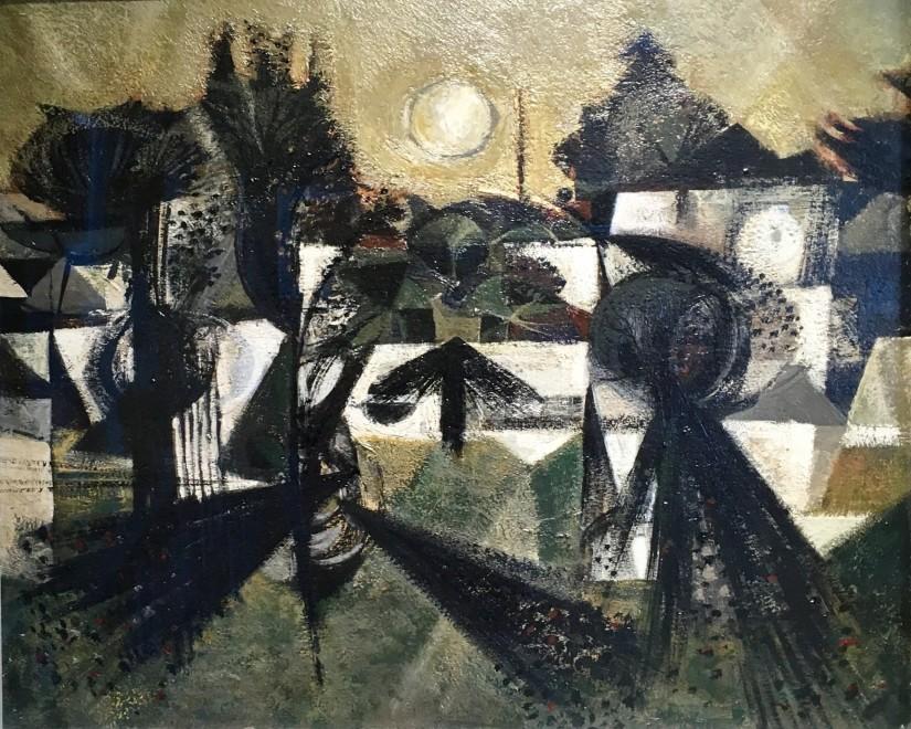 ALAN REYNOLDS (1926-2014)  FENSCAPE, 1952