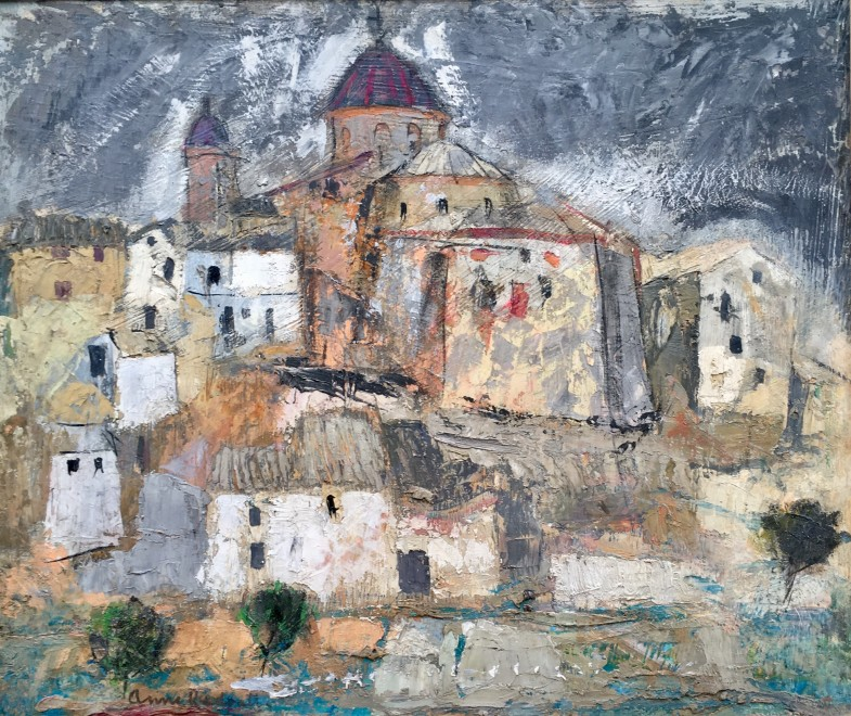 ANNE REDPATH (1895-1965)  SPANISH LANDSCAPE, REQUENA
