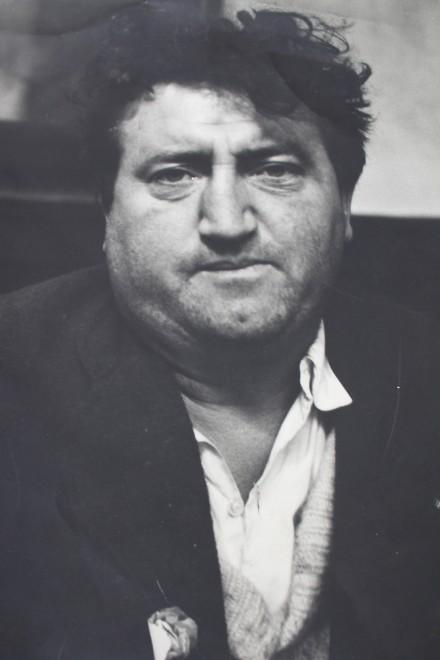 PETER COLLINS (b. 1923)  PORTRAIT OF BRENDAN BEHAN, c. 1960's  SOLD