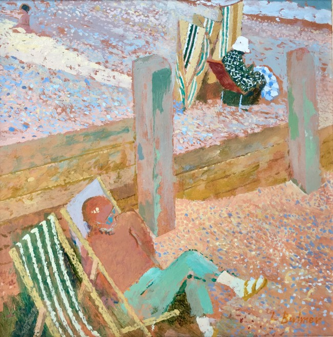 LIONEL BULMER (1919-1992)  THE BREAKWATER, WALBERSWICK  SOLD