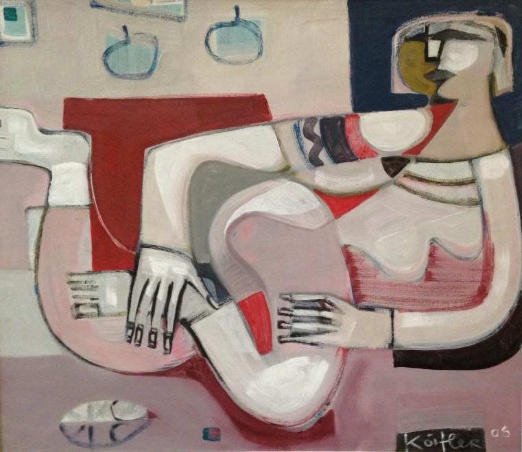Klara Koitler, Reclining Figure, 2005