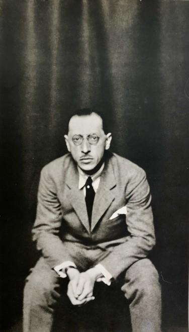 Li Osborne, Stravinsky, c. 1930s