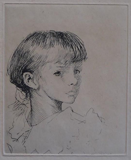 George Clausen, Little Meg, 1892