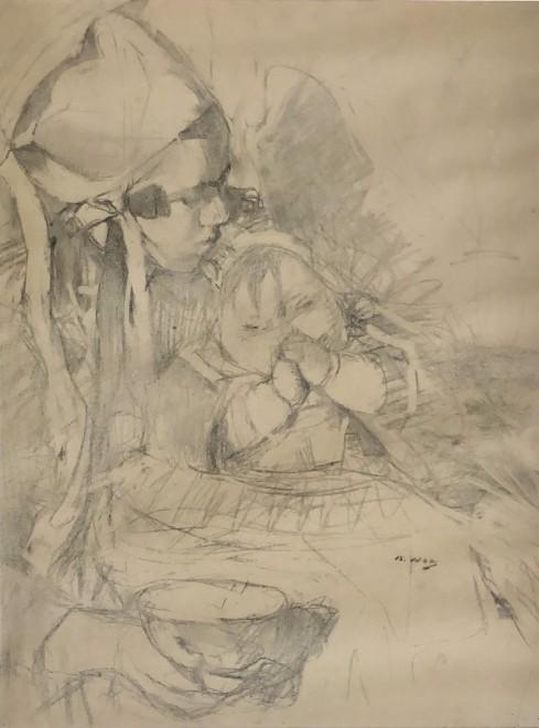 Beatrice How, Nounou et Bébé , c. 1915