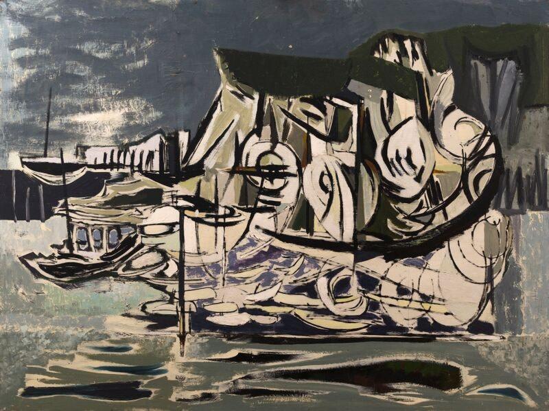 Kenneth Lauder, White Cliffs, 1957