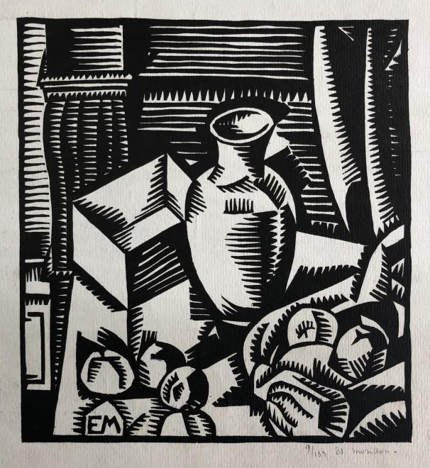 Étienne Morillon, Cubist Still Life, 1919