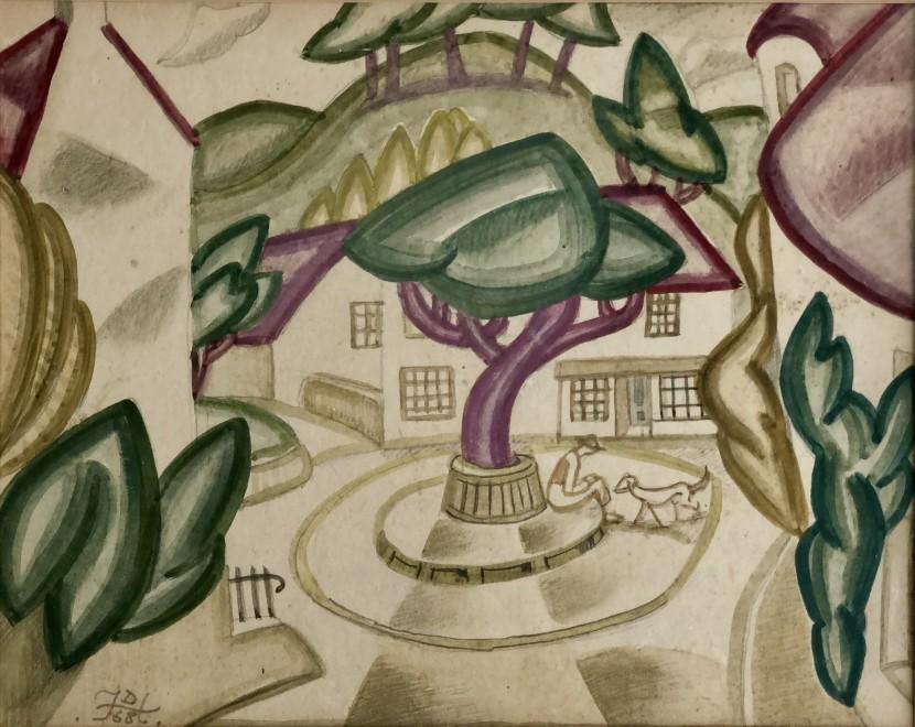 Doris Hatt, Clevedon Triangle, 1968
