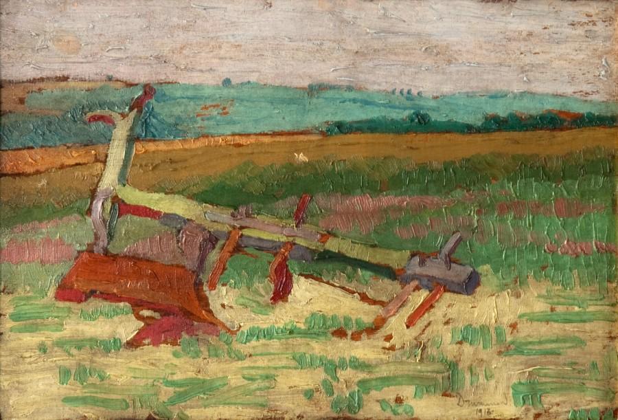 Malcolm Drummond, Plough, 1913