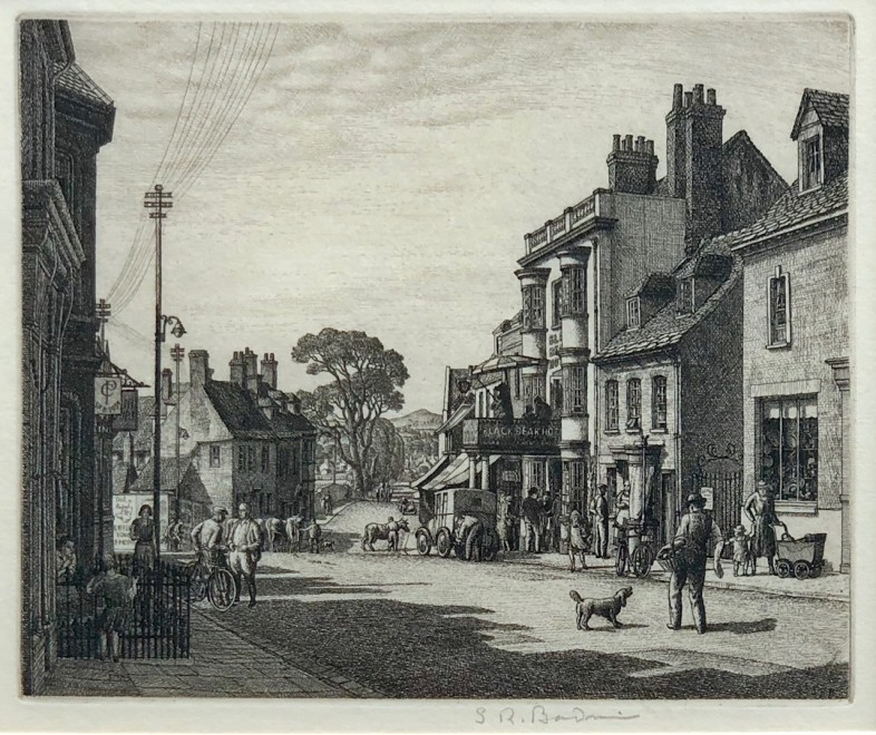 Stanley Roy Badmin, Wareham, Dorset, 1934
