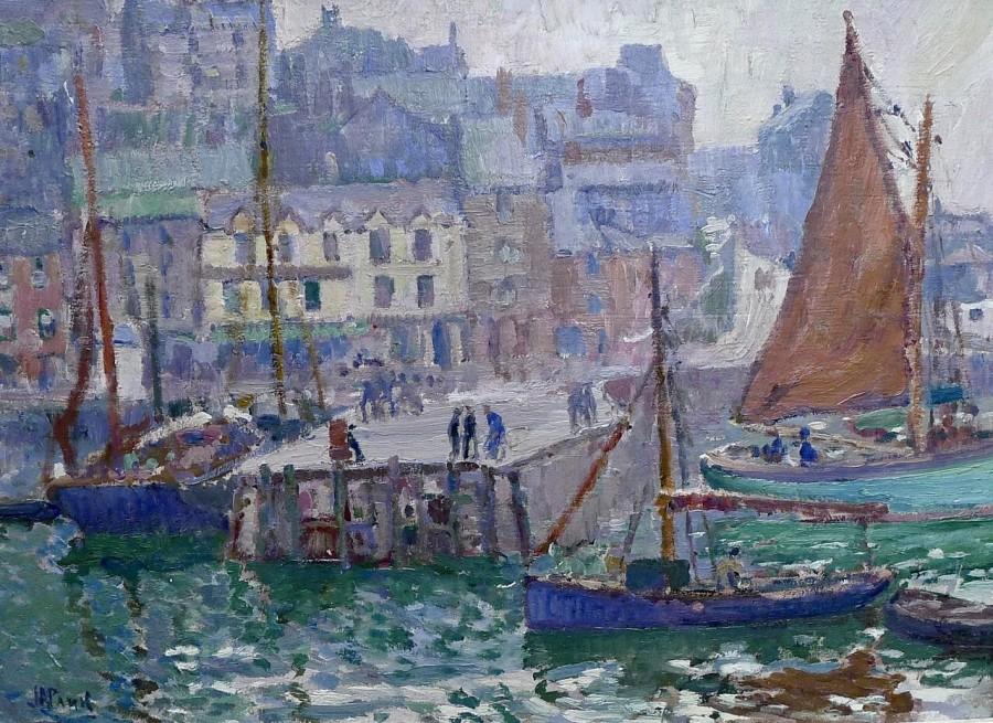 John Anthony Park, Brixham Harbour, c. 1920
