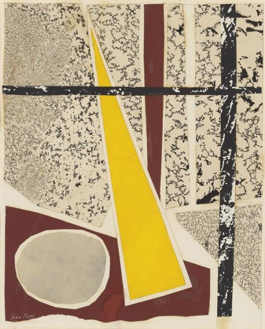 John Piper, Red no. 6 , 1934
