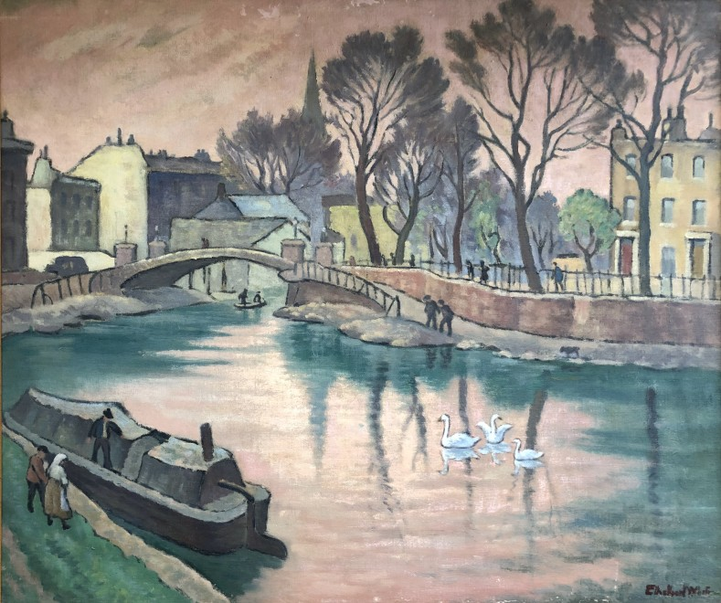 Ethelbert White, Regents Canal, 1938