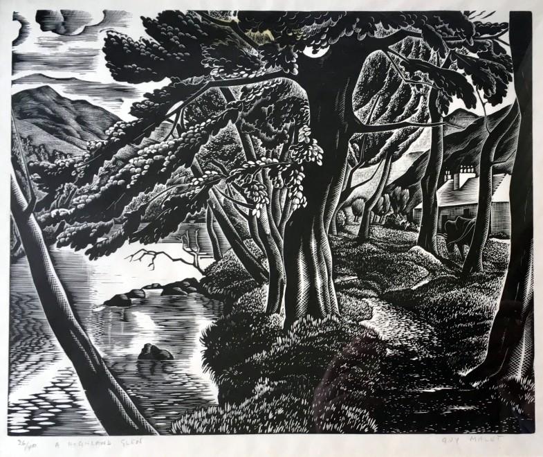 Guy Malet, Highland Glen, c. 1930's