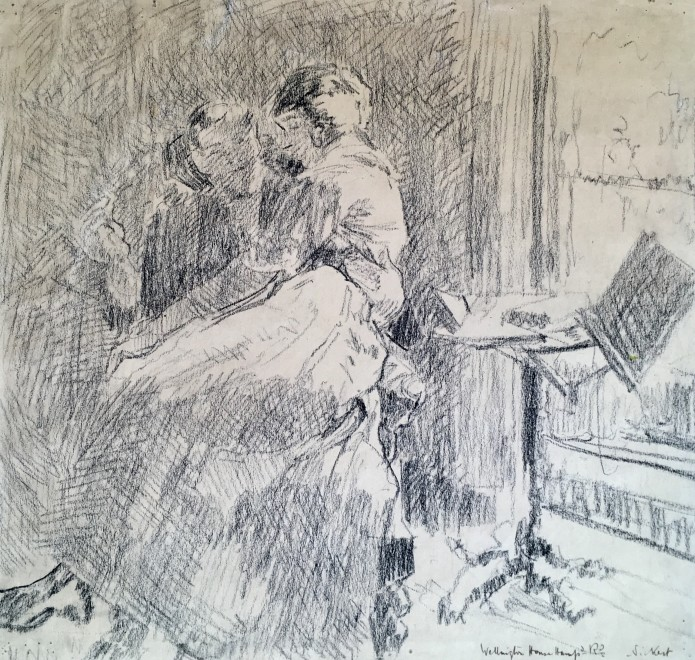 Walter Sickert, Femme de lettres
