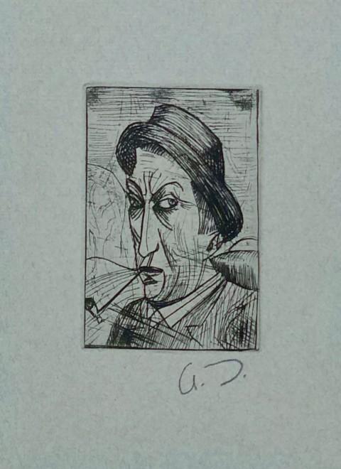 André Derain, Self Portrait, 1913