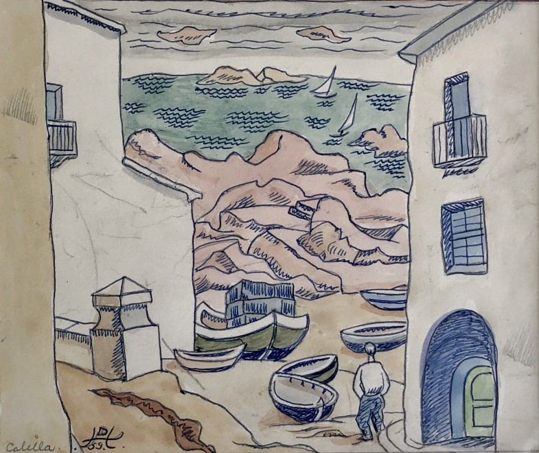 Doris Hatt, Calella, Spain, 1959