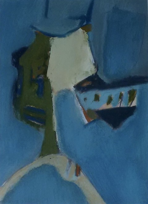 Alan Wood, Abstract Composition, 1962