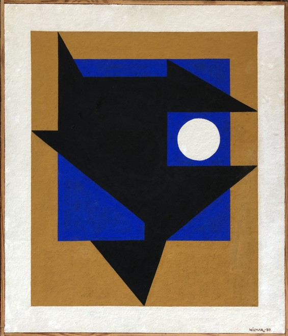 Axel Wilmar, Composition, 1957