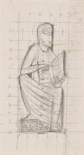 Eric Gill, Who believes what he hears