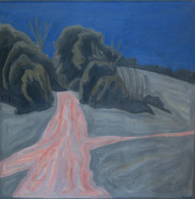 Bryan Senior, Bush-lined Path, 1966