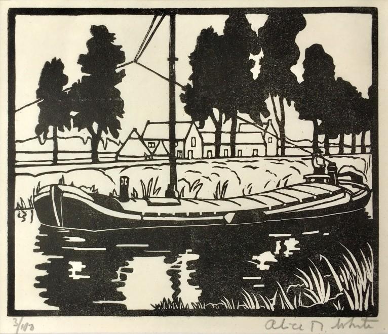 Alice M. White, Barge, c. 1925