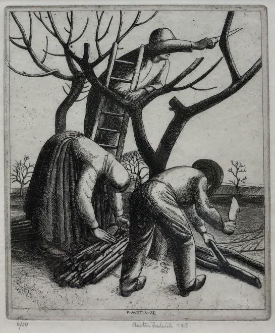 Frederick Austin, Pruning Trees, 1928