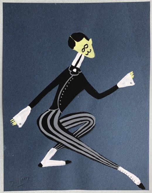 Jacques André Duffour, Dancer, 1948