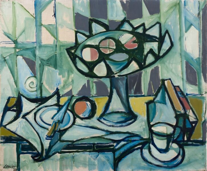 Kenneth Lauder, The Fruit Stand, 1959