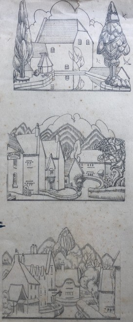Doris Hatt, Village Studies, 1920s