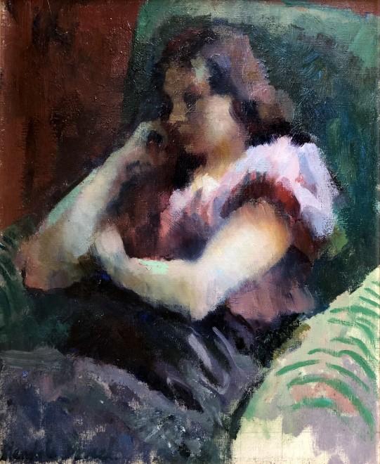 Wendela Boreel, Portrait Study, 1928