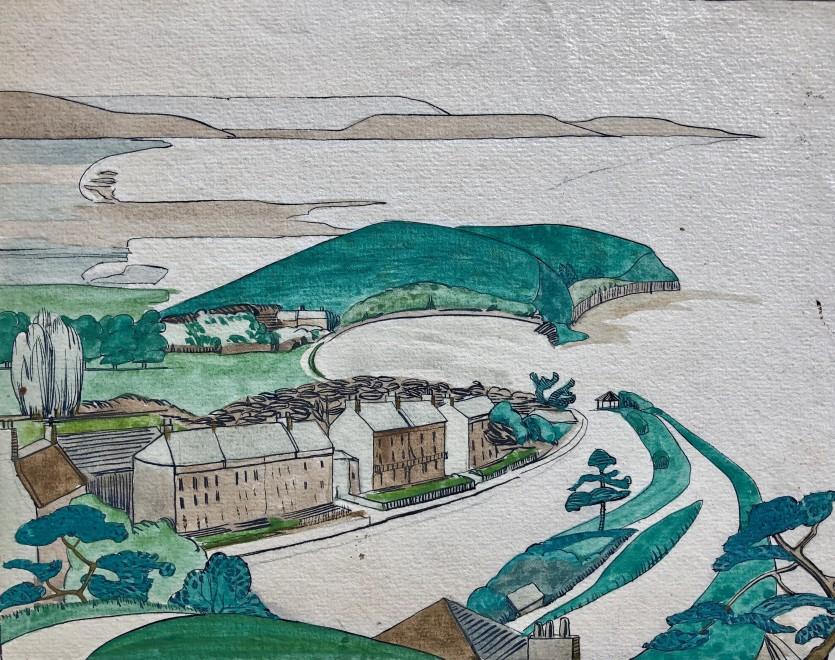 Doris Hatt, Clevedon Coast, 1928