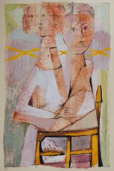 Kenneth Lauder, Mother and Child, 1951