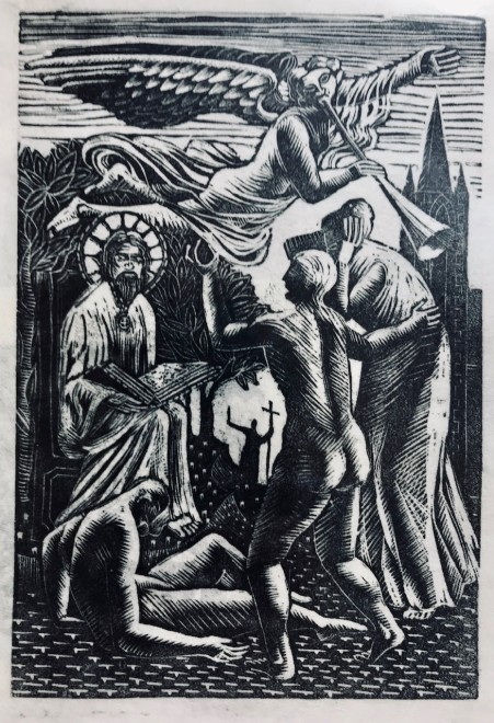 Michael Canney, Apocrypha, c. 1947  6 x 4 inches