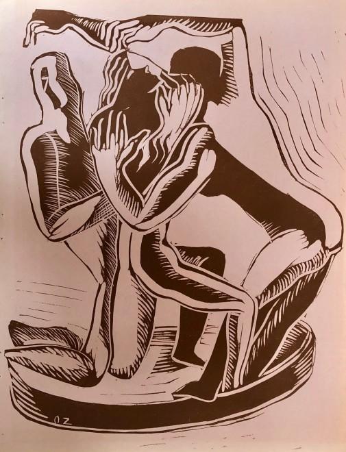 Ossip Zadkine, Untitled, 1938