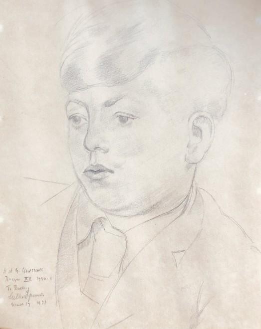 Gilbert Spencer, Portrait of John Wadsworth (Radley College), 1951