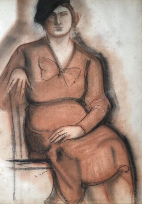 René Gen, Portrait Study, c. 1925