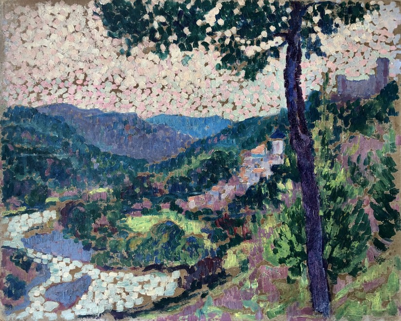 Frank Griffith, French Landscape, c. 1911