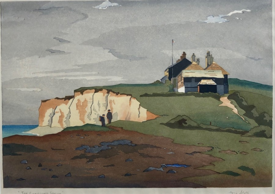 Eric Slater, The Coastguard Station, c. 1930s
