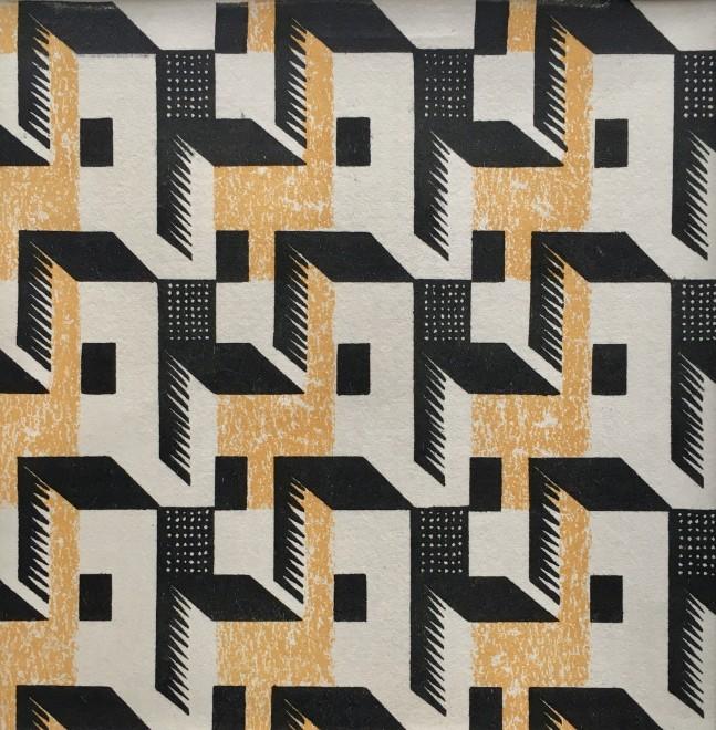 Paul Nash, Pattern Paper Design, c. 1930