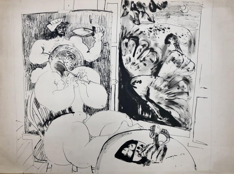 Glyn Morgan, Studio Interior, 1957