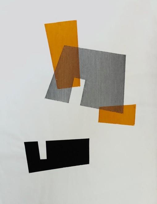Robert Adams, Rectangular Forms, 1955