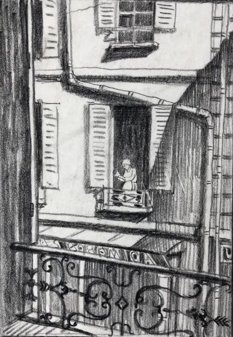 Ethelbert White, Paris, 1912
