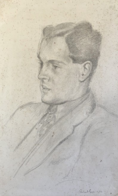 Rupert Lee, Portrait of John Nash, 1932