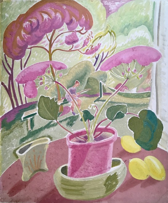 Doris Hatt, John Mackeson's Garden, Clevedon, 1948