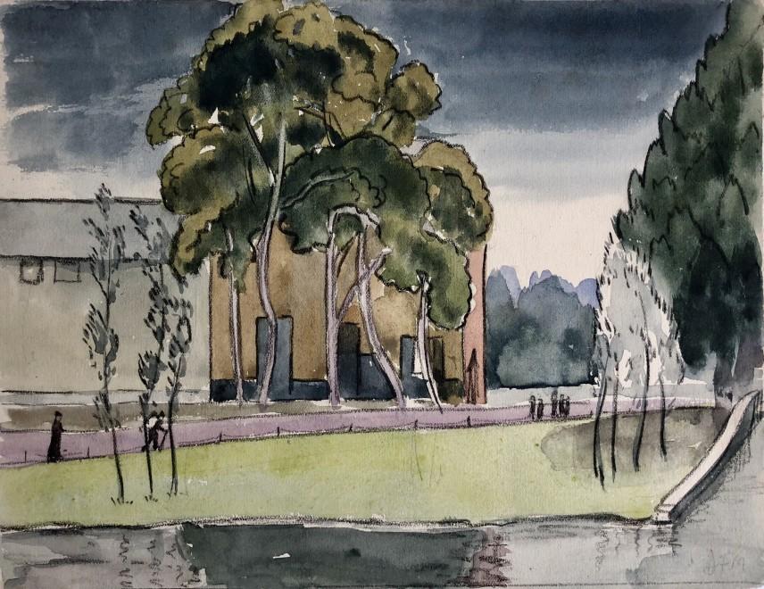 Dorothea Maclagan, Summer Landscape , 1920's