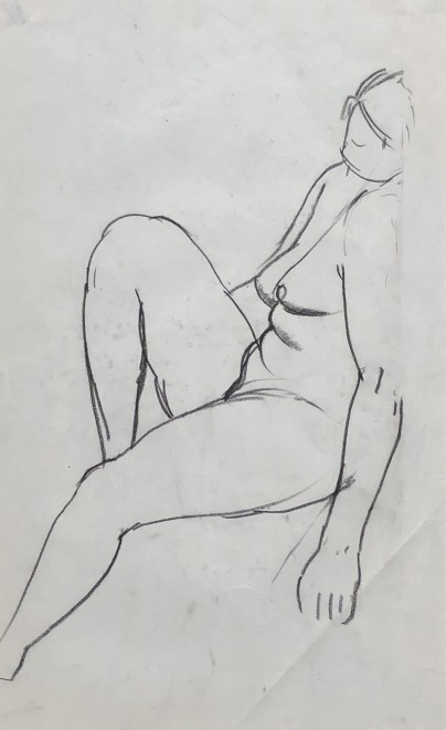 Charles James McCall, Female Nude