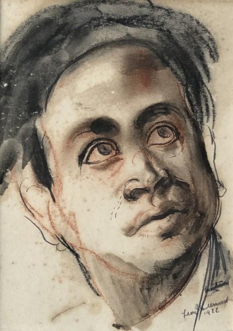 Leon Underwood, Portrait of Mukul Dey, 1922
