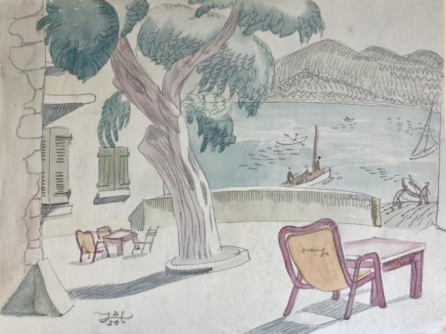 Doris Hatt, St. Tropez, 1950