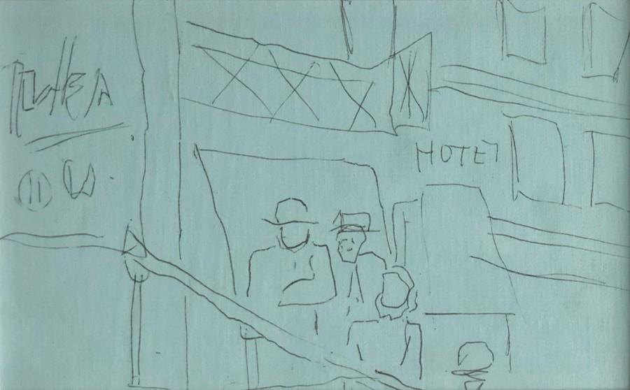 Fernand Lèger, Croquis pour la ville, 1920's